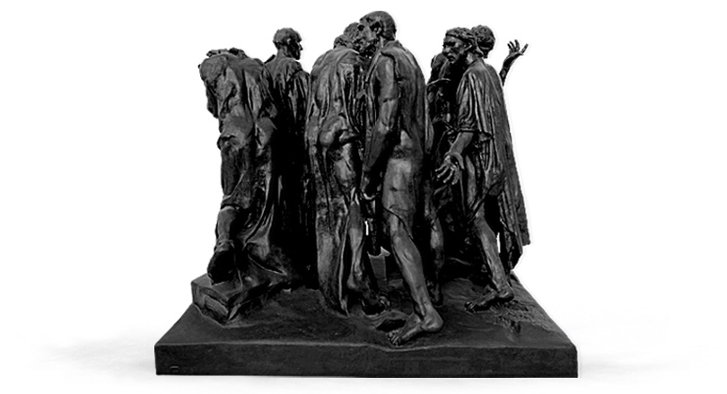 The Burghers of Calais 5