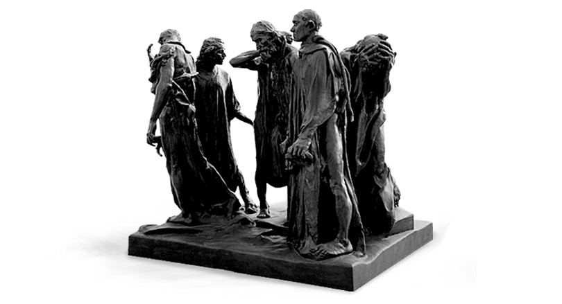 The Burghers of Calais 8